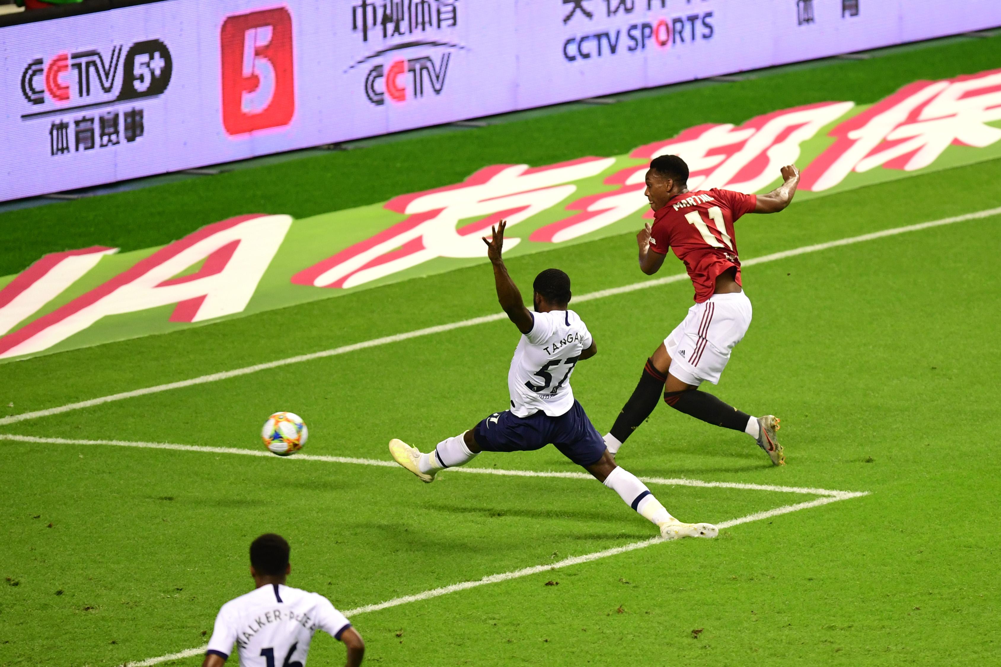 红魔曼联战胜热刺 ,2019国际冠军杯中国赛圆满收官
