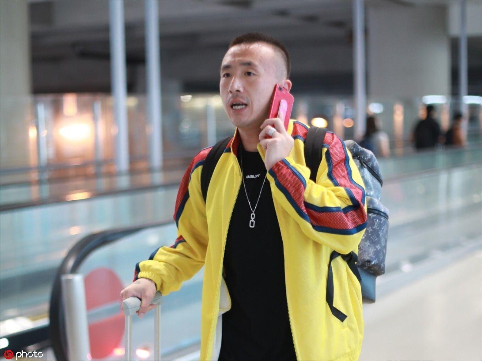 多图流:王永珀抵达上海,即将与申花会合