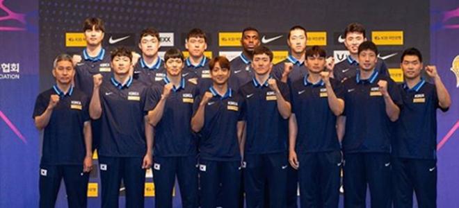 韩国篮协公布世界杯12人大名单:归化球员罗健儿领衔