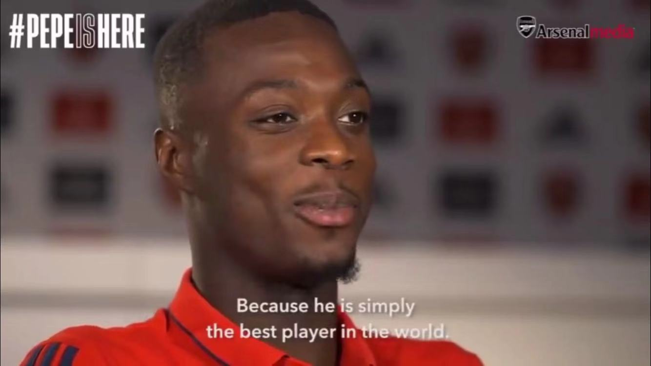 佩佩:最喜欢梅西,因为他简直是世界上最好的球员
