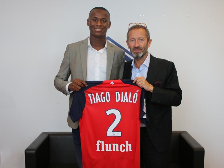 官方:AC米兰年轻后卫蒂亚戈-贾洛转会加盟里尔