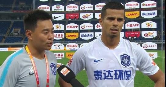乔纳森:进球献给未来的孩子,吴䶮是很出色的门将