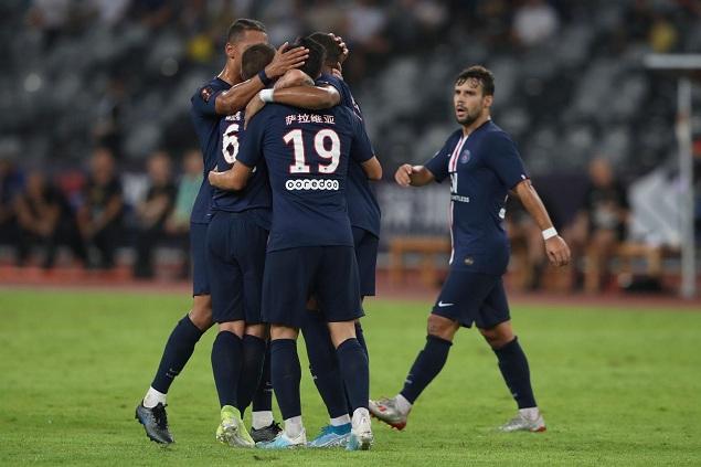 法超杯:姆巴佩破门迪马利亚任意球世界波,巴黎2-1雷恩