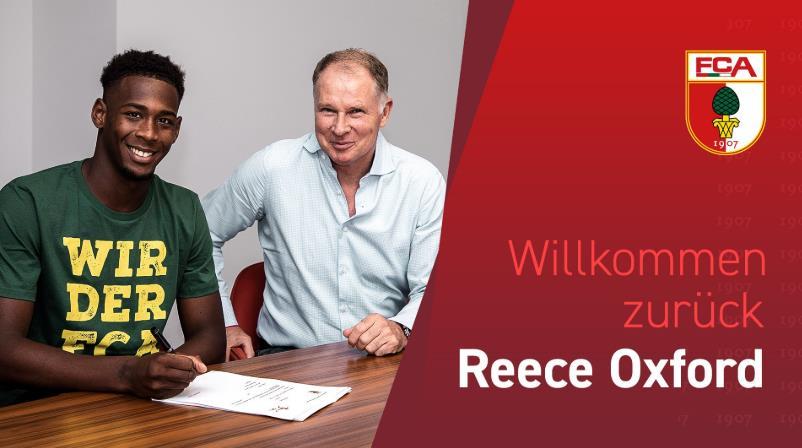 官方:奥格斯堡与西汉姆年轻后卫签约至2023年