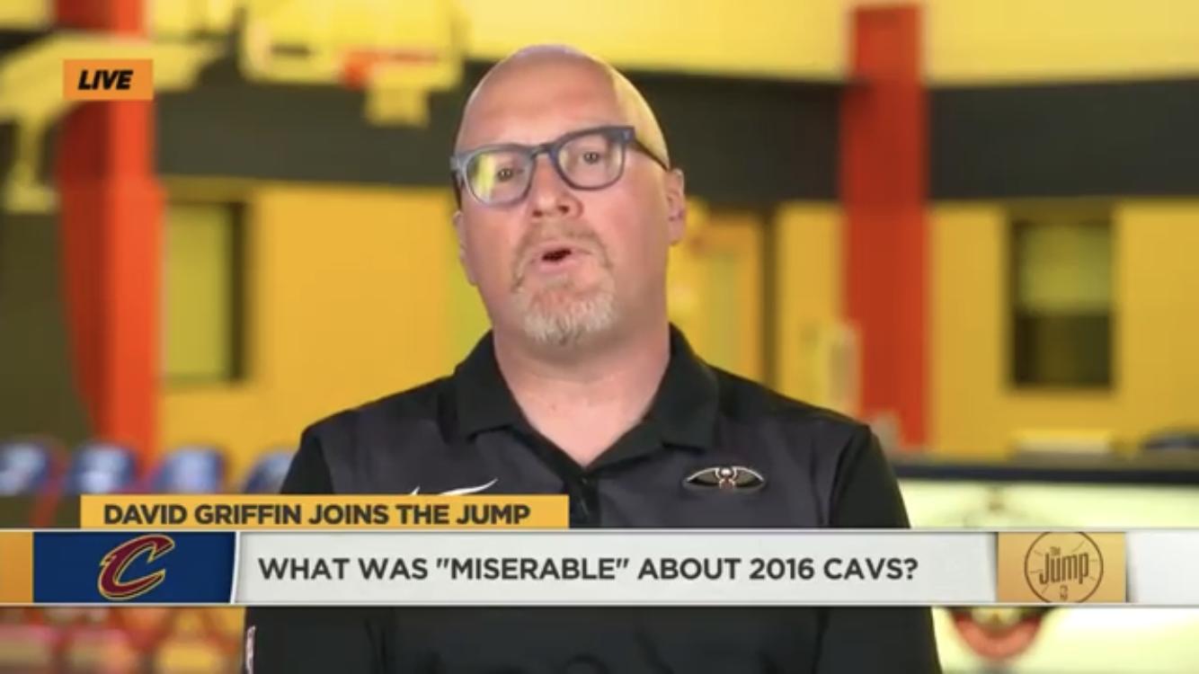 大卫-格里芬:我为应对媒体而痛苦,问题不在詹姆斯本人