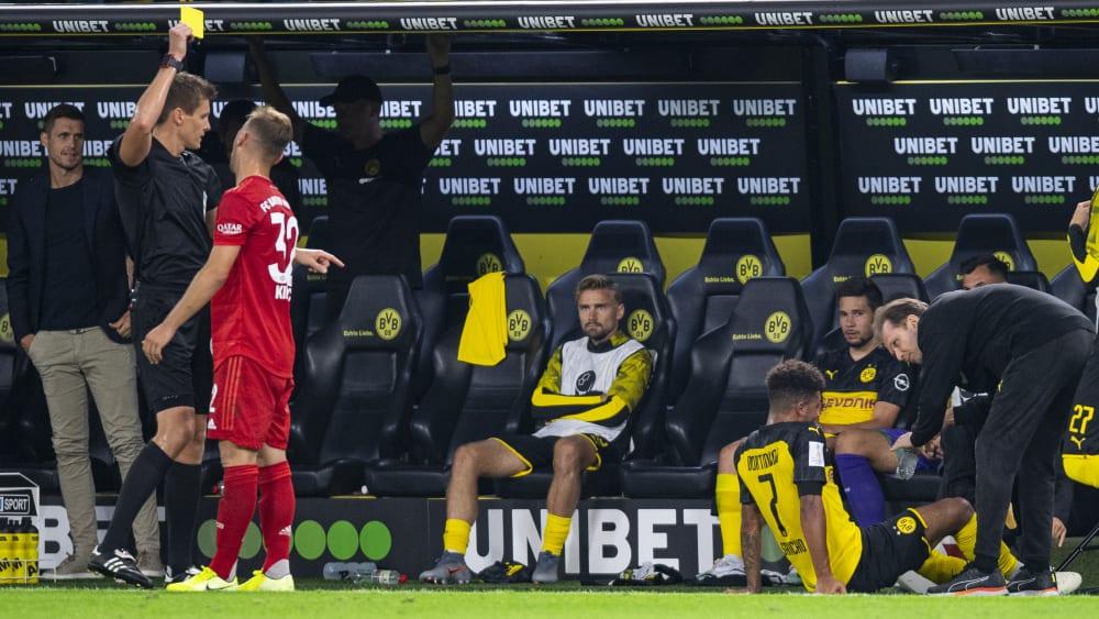 德国足协官方承认错误:基米希的犯规应该是红牌