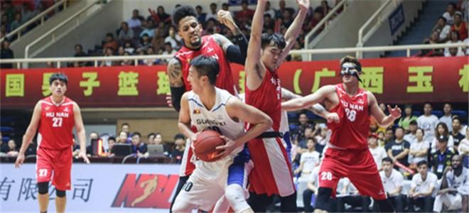 NBL半决赛第二场:广西、安徽双双拿下赛点