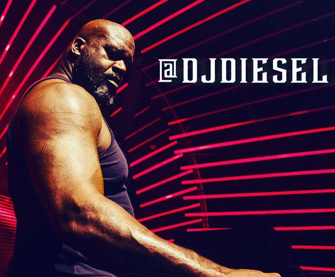 其实吾是个DJ!奥尼尔晒出本身的艺名:DJ Diesel