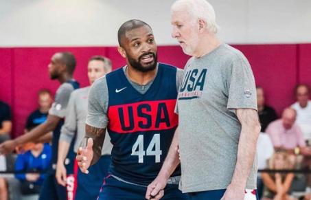 塔克谈美国队训练营:年轻球员更要注意场上的小细节