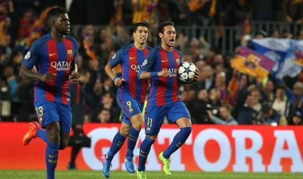内马尔:逆转巴黎时梅西让我罚点球,他说那样我会更自信