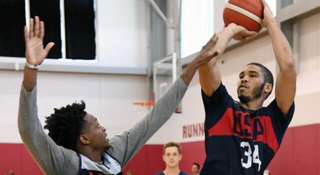 塔特姆谈适应国际篮球比赛规则:这是个深造过程