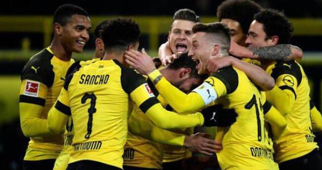 德国杯:罗伊斯帕科建功,多特蒙德客场2-0乌丁根升级
