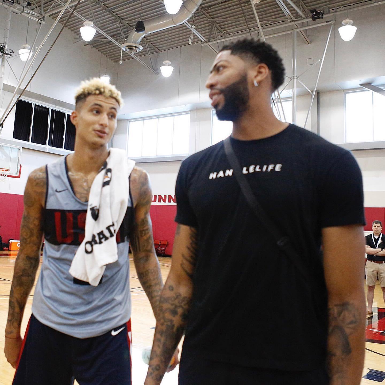 库兹马:AD是一个安静的人,他只关心篮球