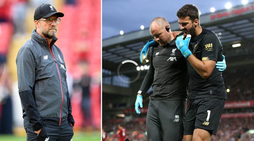 第三门将手部受伤在恢复,利物浦陷入门将危机