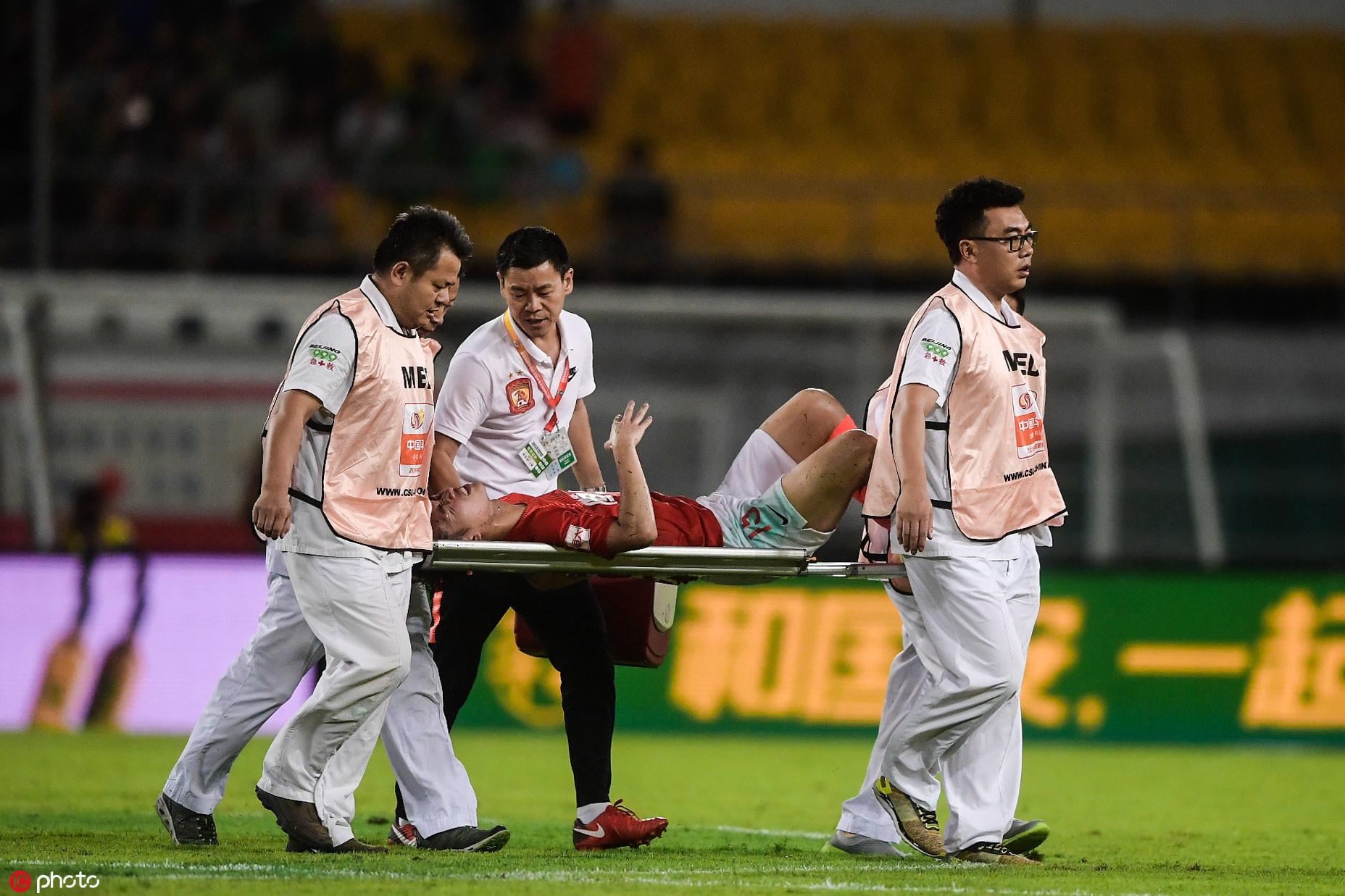 埃尔克森:严鼎皓的受伤可能让他告别本赛季