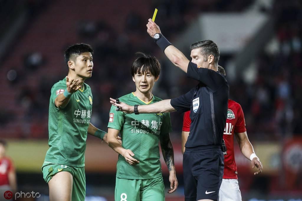 京粤战裁判执法记录,曾吹罚国安比赛1平2负