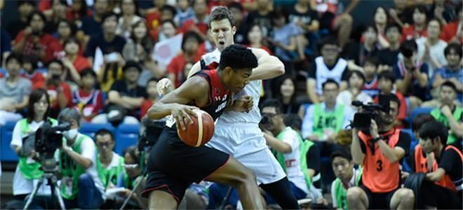 八村垒35分,日本男篮热身赛战胜新西兰