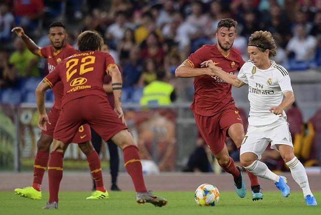 友谊赛:马塞洛传射+失点,罗马点球5-4总分7-6皇马