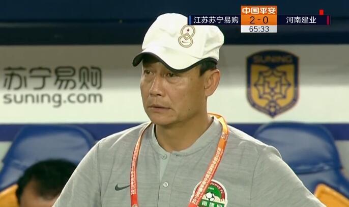 GIF:陈灏手球送点特谢拉命中,苏宁2-0建业