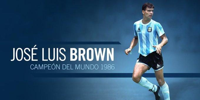 阿根廷传奇后卫、86年世界杯冠军球员布朗去世,享年62岁