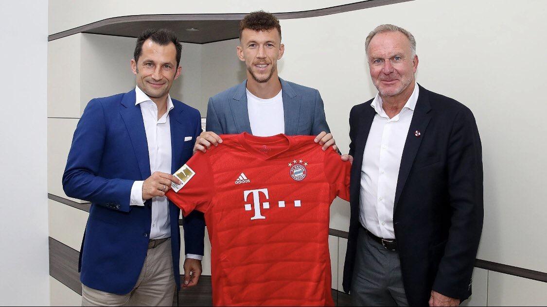 官方:国米边锋佩里西奇租借加盟拜仁,带买断条目