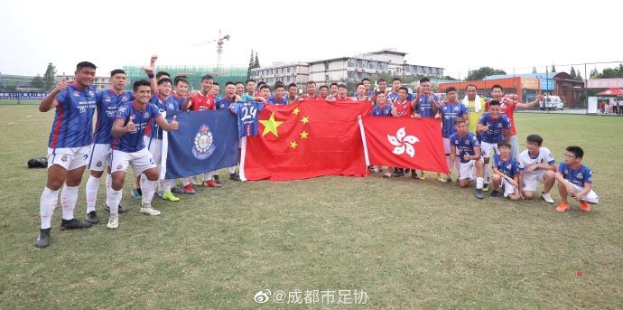 中国香港警务处足球队夺世警会男足冠军
