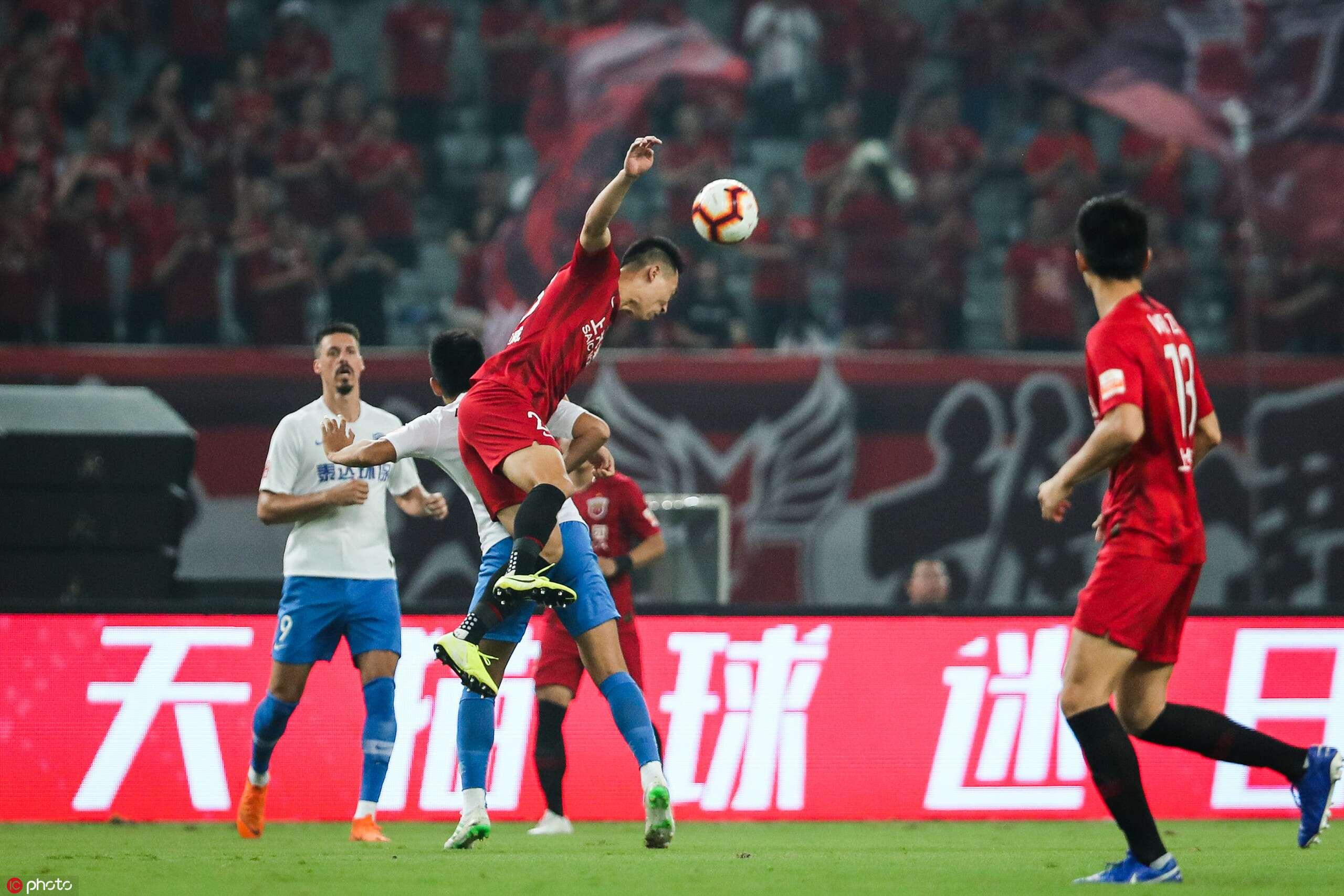 半场:吕文君破门瓦格纳扳平,上港1-1泰达