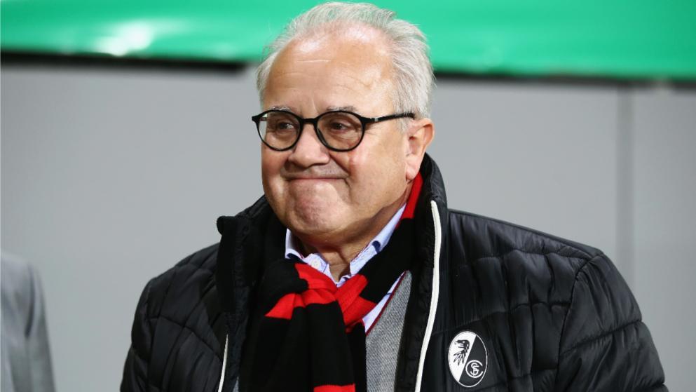 官方:弗赖堡主席凯勒被提名为德国足协主席候选人