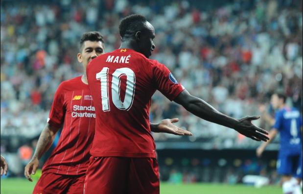 足球世界:GIF:菲尔米诺助攻马内梅开二度,利物浦取得领先