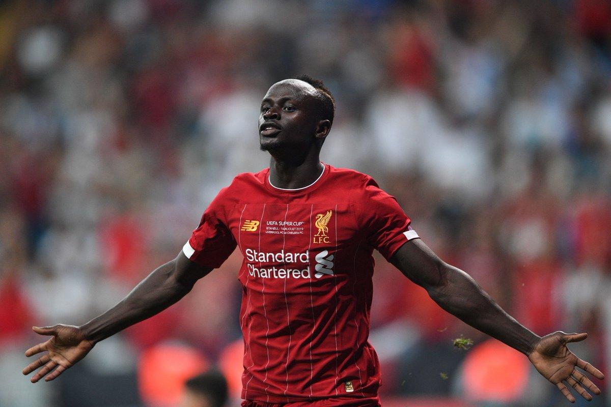 足球世界:塞内加尔之光!马内成祖国首位在欧超杯进球的球员
