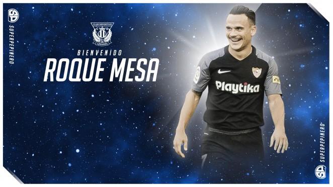 足球世界:官方:莱加内斯租借塞维利亚中场罗基-梅萨