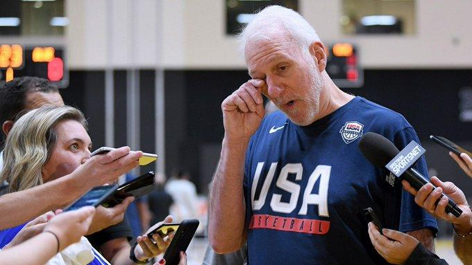 波波维奇笑谈1972年被美国男篮裁员:我当时非常伤心