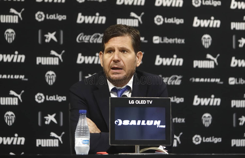 瓦伦西亚总监:发售罗德里戈是老板的决议,我不话语权