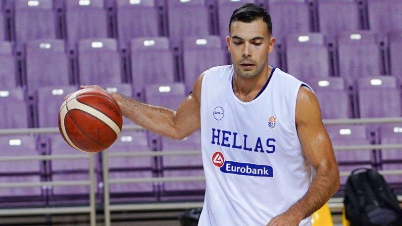 希腊后卫斯洛卡斯因小腿拉伤不会随队前往中国参加热身赛