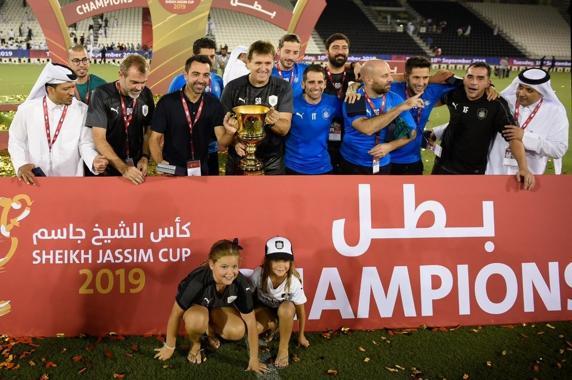 首冠!哈维率萨德1-0击败杜海勒,捧得卡塔尔超级杯