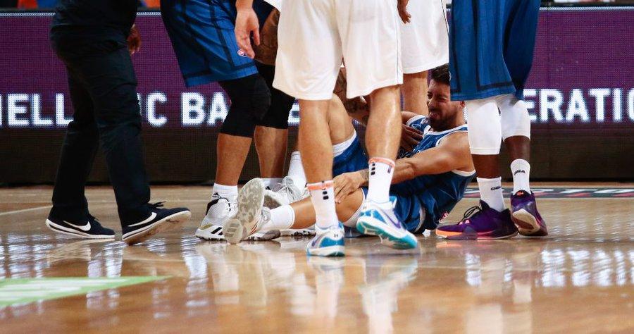 希腊后卫扬尼斯-阿西埃努因前交叉韧带伤病无缘世界杯