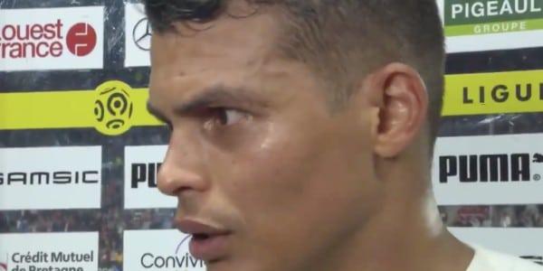 蒂亚戈-席尔瓦:希望输给雷恩是本赛季最后一场联赛输球