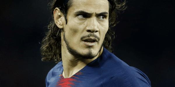 法媒:巴黎前锋卡瓦尼入围为单个法甲俱乐部进球榜前五