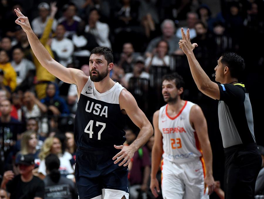 乔-哈里斯:所有人关注的都是成为尽可能优秀的美国队