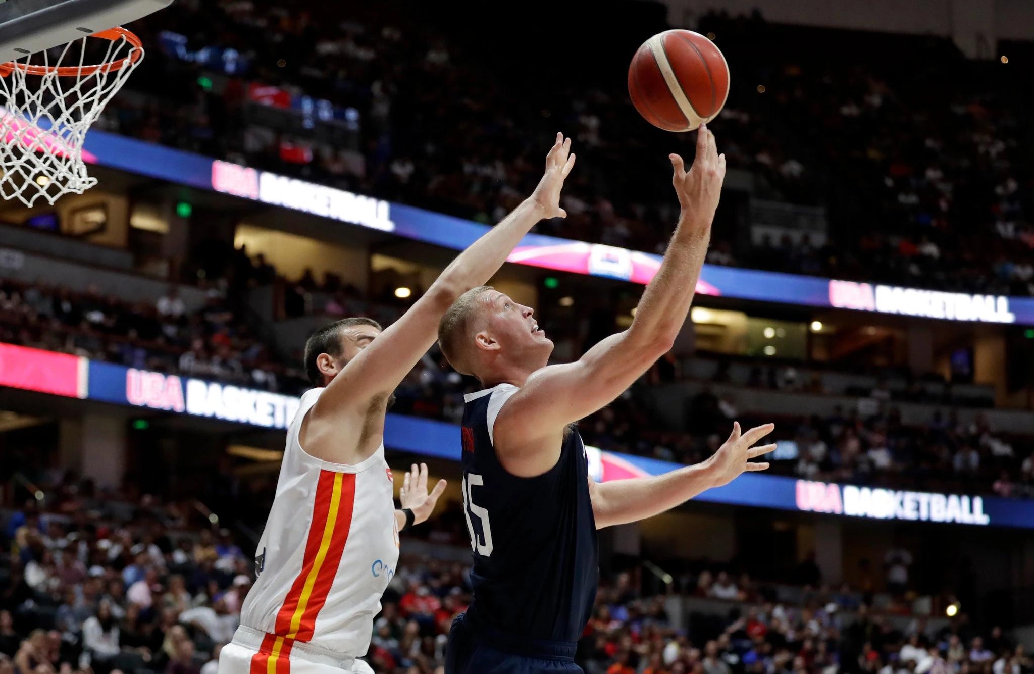 幼添索尔:外界质疑是美国男篮的行力,他们的阵容很特出