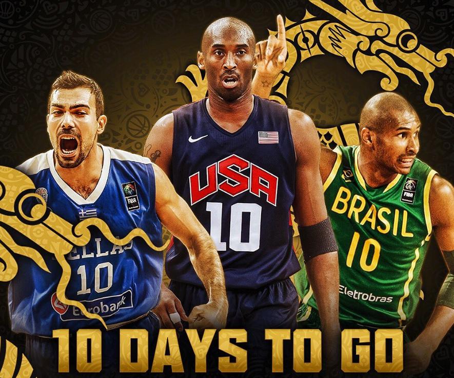 男篮世界杯倒计时10天!这三位国家队10号你都意识吗?