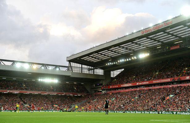 官方:利物浦打算继续扩建安菲尔德,目标容纳6万名观众