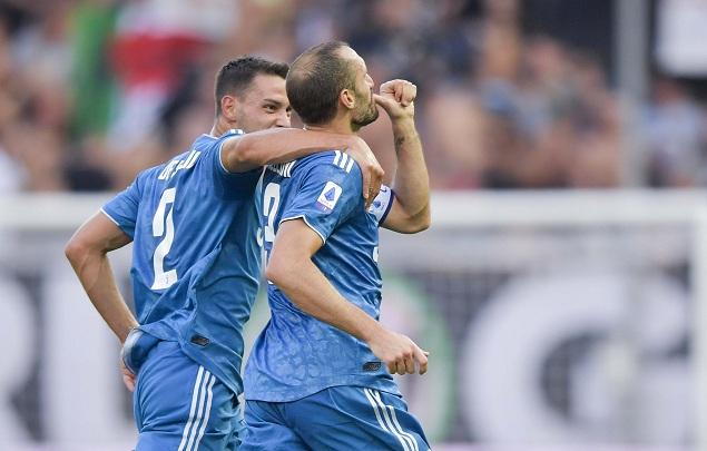 基耶利尼破门制胜C罗进球被吹,尤文客场1-0帕尔马
