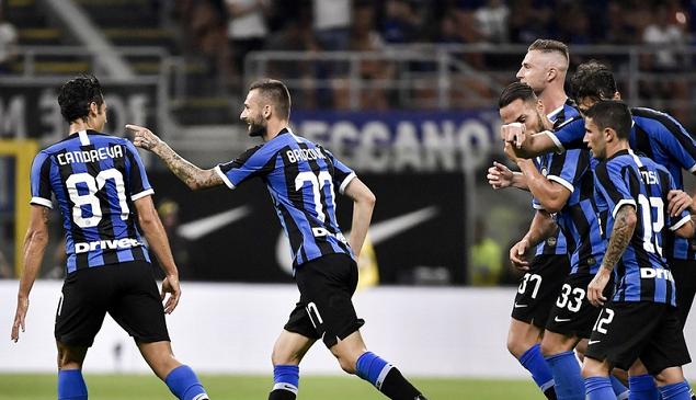 布罗佐维奇森西建功卢卡库处子球,国际米兰4-0莱切