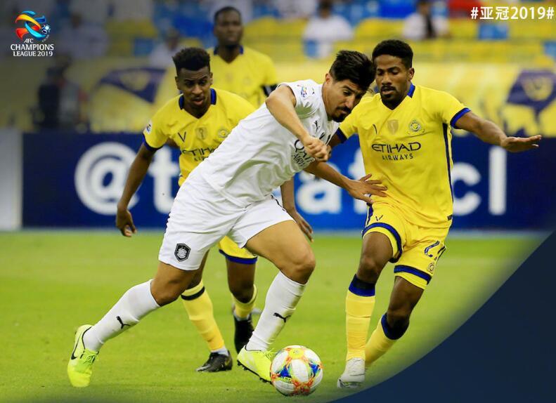 亚冠:利雅得胜利2-1萨德,伊蒂哈德平利雅得新月