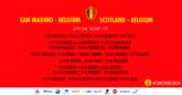 比利时大名单:阿扎尔、德布劳内领衔,卡拉斯科入选