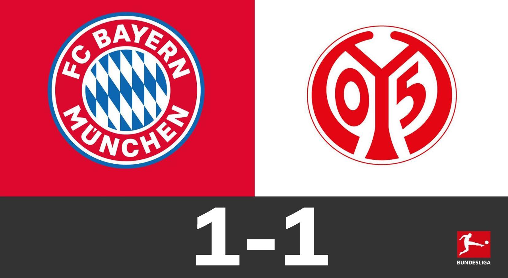 GIF:帕瓦尔不停球凌空抽射入网,拜仁1-1扳平比分