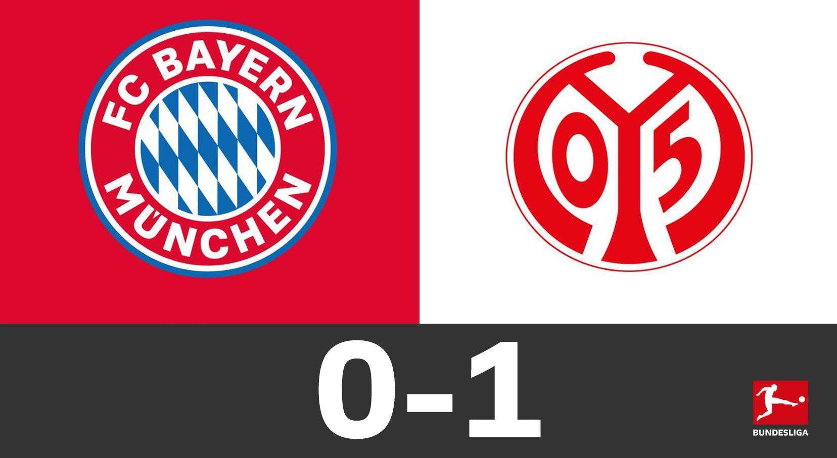 GIF:伯丘斯头球破门,美因茨1-0领先拜仁