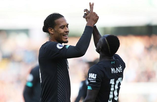 菲尔米诺传射建功马内破门,利物浦客场3-0伯恩利