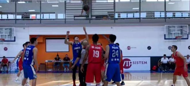 江苏男篮塞尔维亚拉练第三战74-74战平对手
